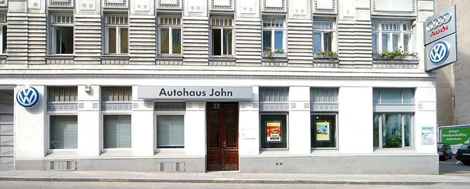 Autohaus John, Ihr VW und Audi Händler im Herzen Wiens!